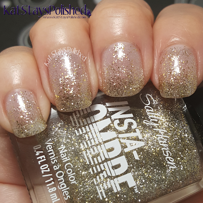 Sally Hansen Insta-Ombre - Gold Grade | Kat Stays Polished