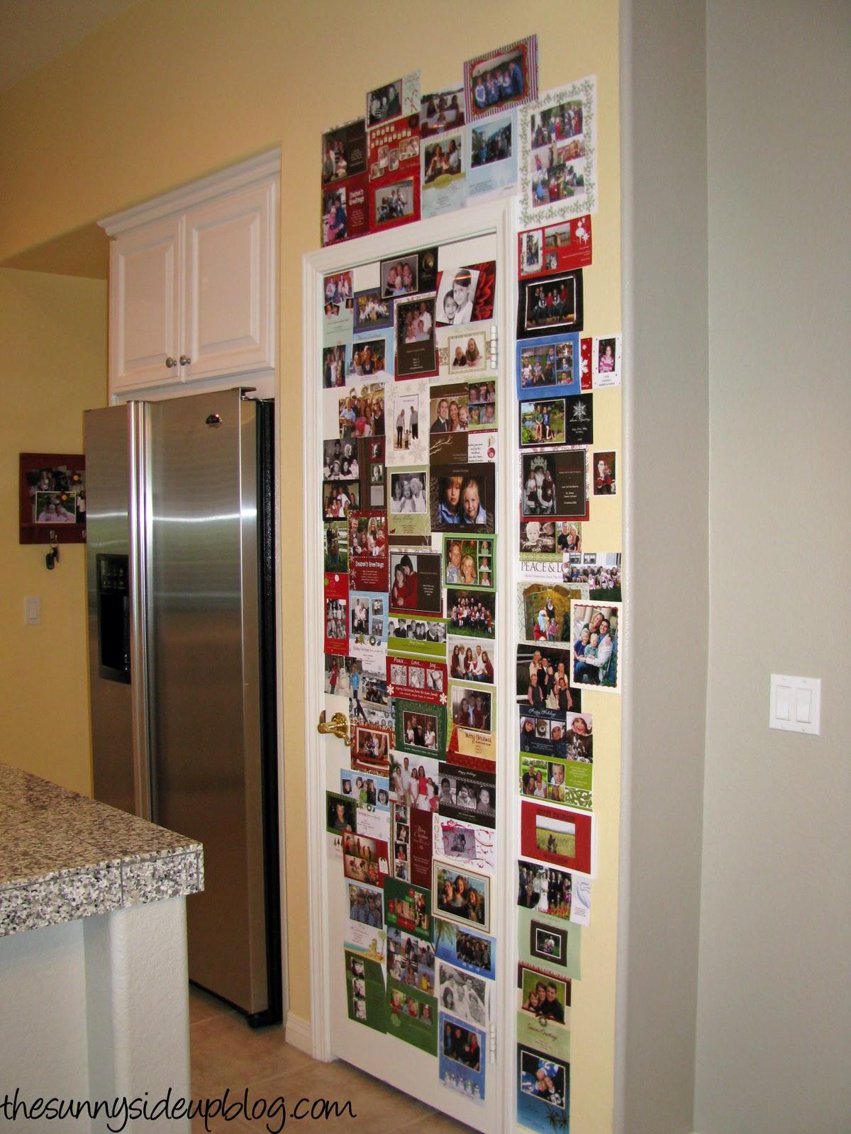 Christmas Card Display.Christmas Card Display The Sunny Side Up Blog