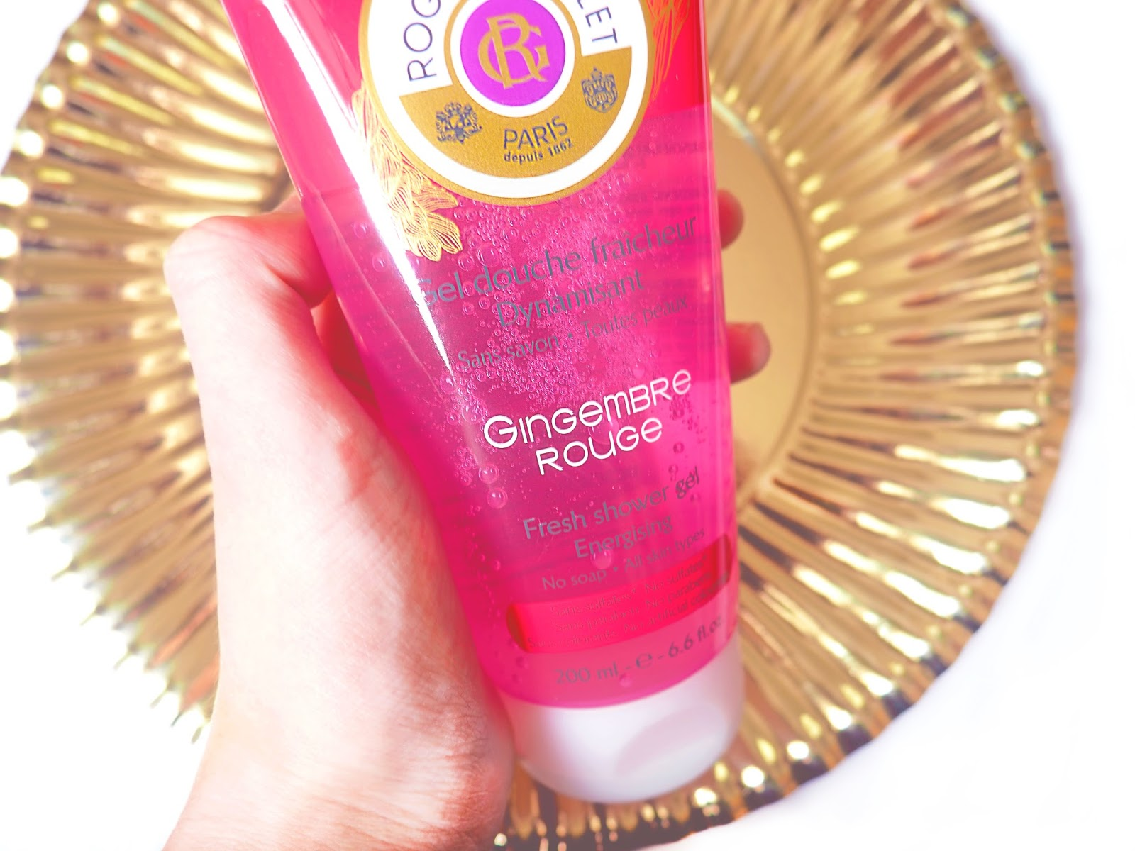 Roger&Gallet Gingembre Rouge Shower Gel Review
