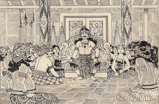 Setelah Gandari menikah dengan Dhritrashtra beliau tetapkan untuk menutup matanya dengan s Cerita Kelahiran Kurawa Versi INDIA Terlengkap