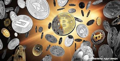 Криптовалюты идут вверх