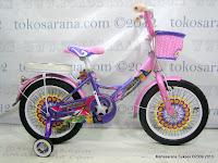 Sepeda Anak Phoenix 518 Elegant Keranjang 16 Inci