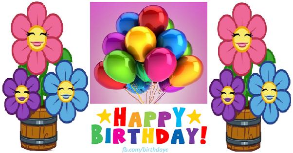 Flowers birthday greeting cards
