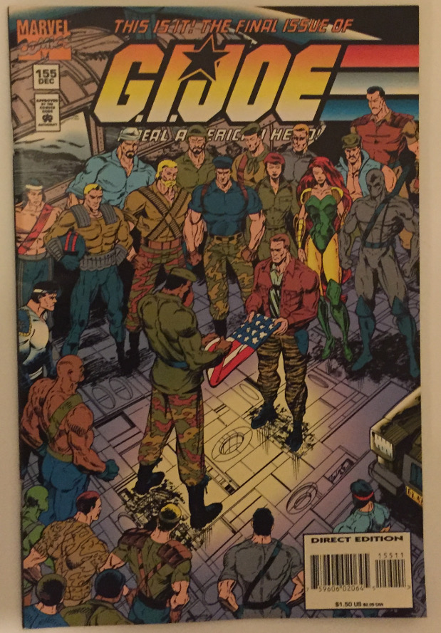 G.I. Joe #155, Final Issue, Marvel Comics