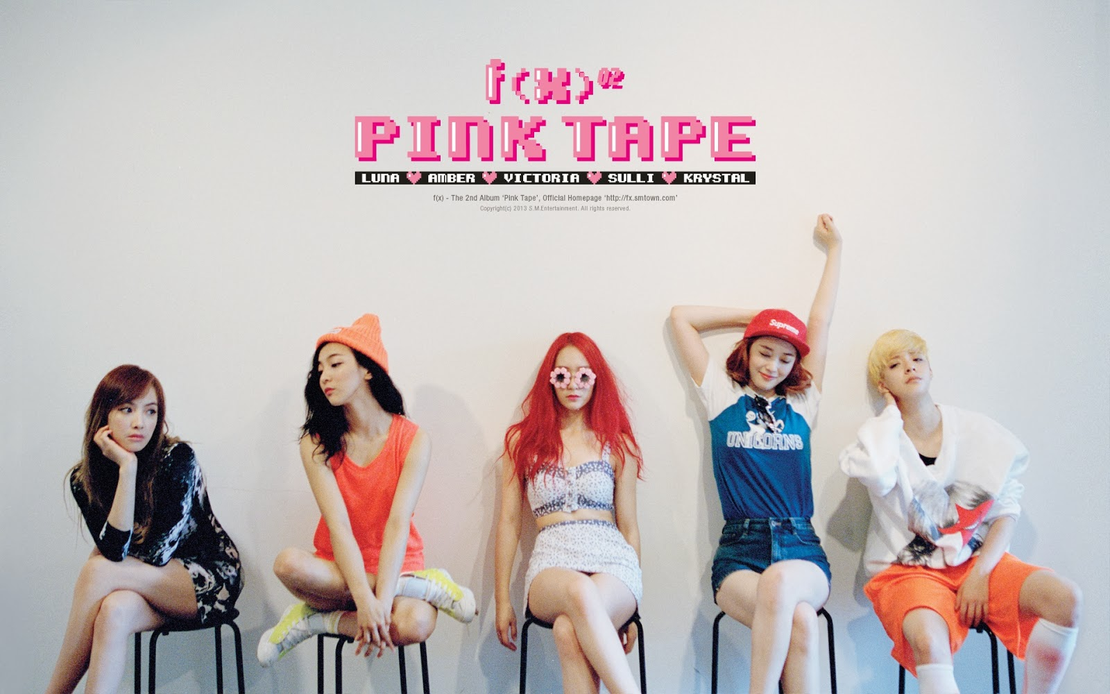 f(x) Pink Tape Wallpaper Teaser | Hot Sexy Beauty.Club F(x) Amber Pink Tape