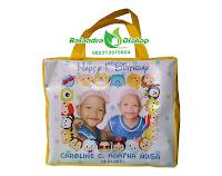 tas ultah, tas souvenir ultah, tas ulang tahun, tas ultah tsum tsum.