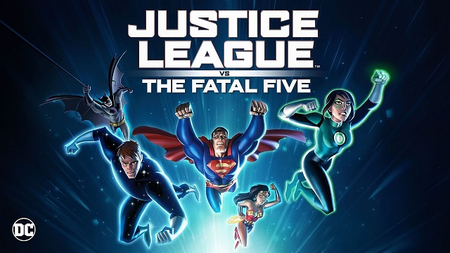 Justice League vs the Fatal Five 2019 Full Movie English 720p HD Esub