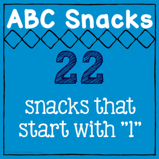 food starts with l, abc snacks, letter of the week snacks