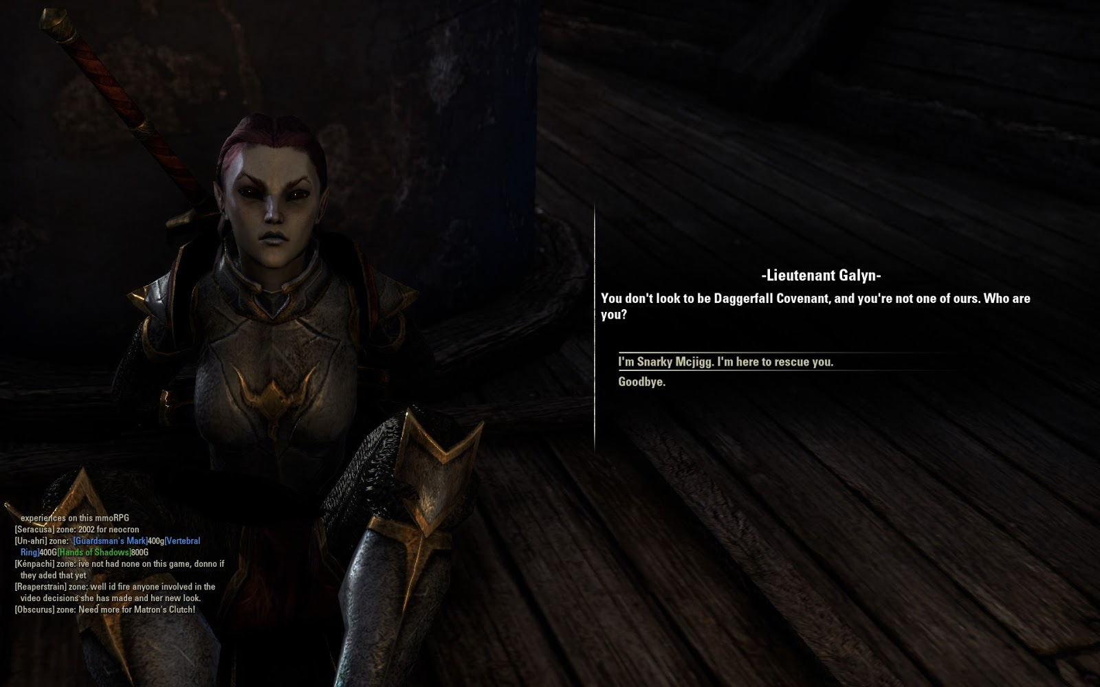 Thematic Dissonance: ESO Thoughts