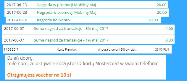 Moje zarabianie na bankach - podsumowanie maja 2017 r.