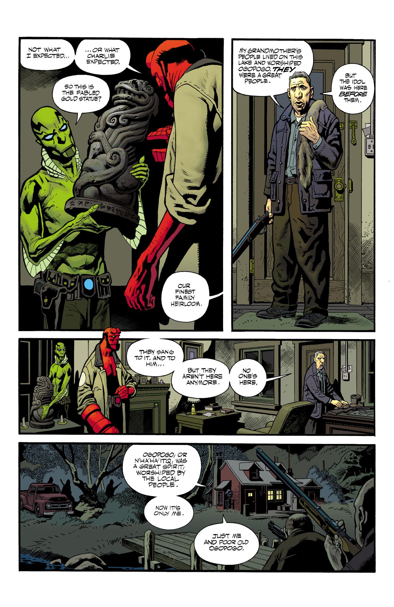 Read online Abe Sapien comic -  Issue #23 - 18