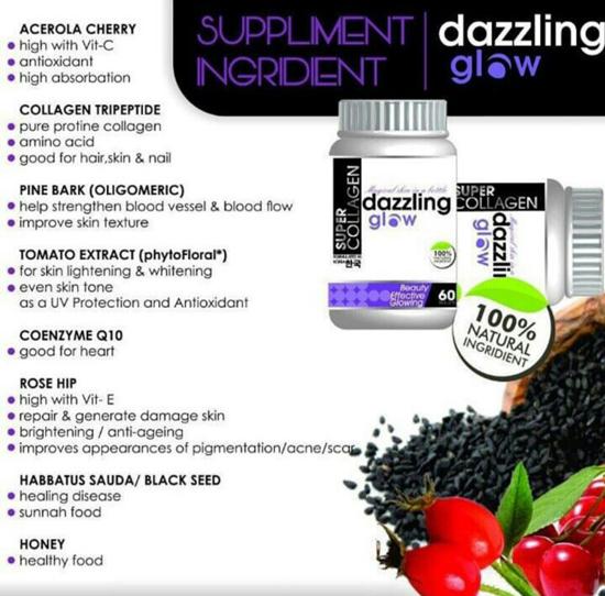 info produk Dazzling Glow