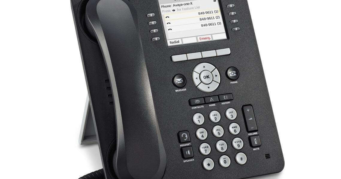 Avaya 9611g, 9640g IP Phone Reset - Resetting devices to Factory Defaults