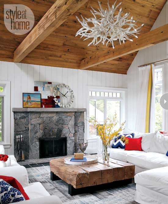 Small Cottage Living Room Ocean: SMALL BOATHOUSE WITH BIG COTTAGE CHARM