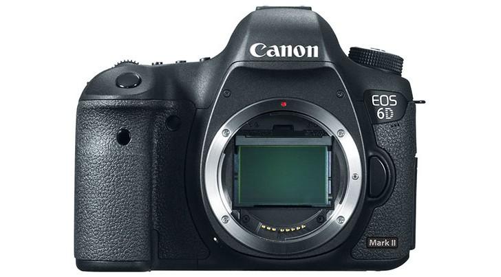 Возможный вид фотоаппарата Canon EOS 6D Mark II