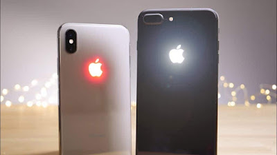 This mod for iPhone X and iPhone 8 brings glowing Apple logo