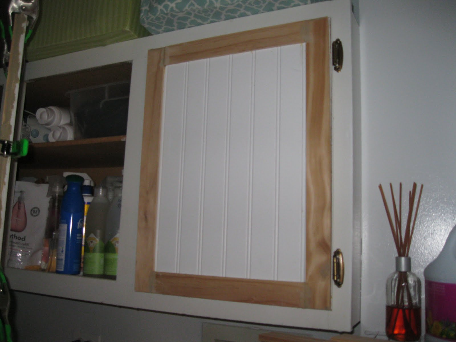 Loved by Kids and Moms: DIY Beadboard Cabinets & Laundry ...