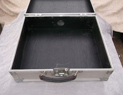 Image of DJ Mixer flight case internal view