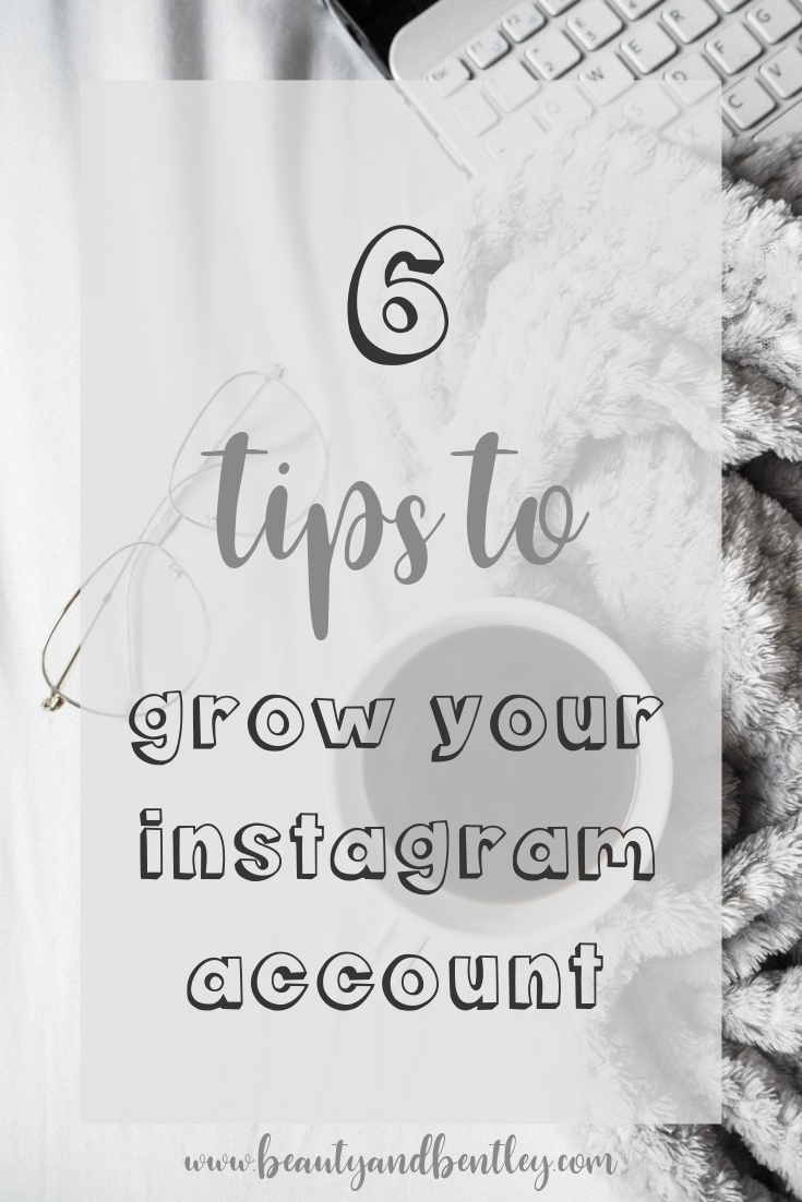 Pinterest Image - 6 Ways To Grow Your Instagram Account