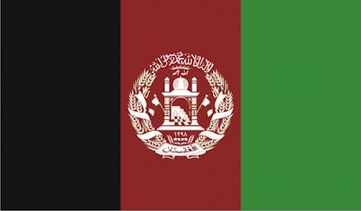 Gambar Bendera Negara Afghanistan