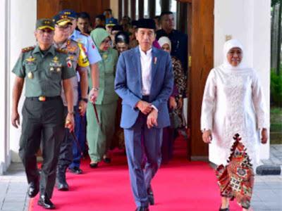 Jokowi ke Jawa Timur, Bagikan 3.000 Sertifikat Tanah di Gresik
