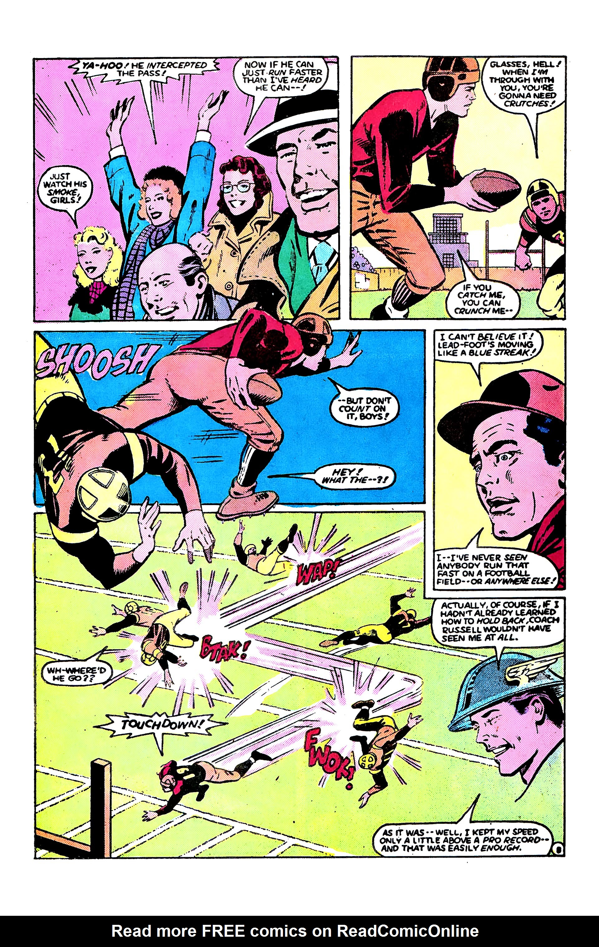 Read online Secret Origins (1986) comic -  Issue #9 - 32