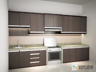 kitchen set berbahan hpl di malang