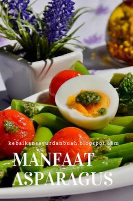 manfaat asparagus untuk kesuburan
