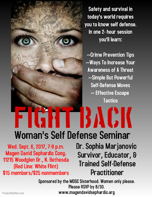 10 Real-World Self Defense Tips—From A Lecture By A Survivor