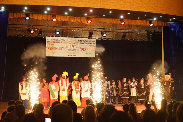International Folk Dance and Music Perkhuli Festival Tbilisi 2017