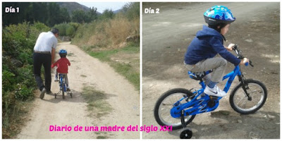 Mi�rcoles Mudo: Aprendiendo a montar en bici de mayor
