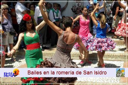 Bailes típicos para celebrar la llegada de San Isidro a su ermita