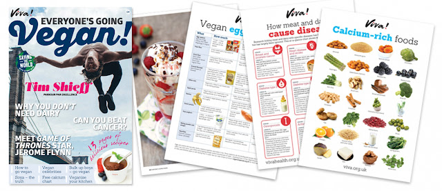 viva,magazines,vegan pack,Free Everyone's Going Vegan pack,vegan magazine,free vegan magazine