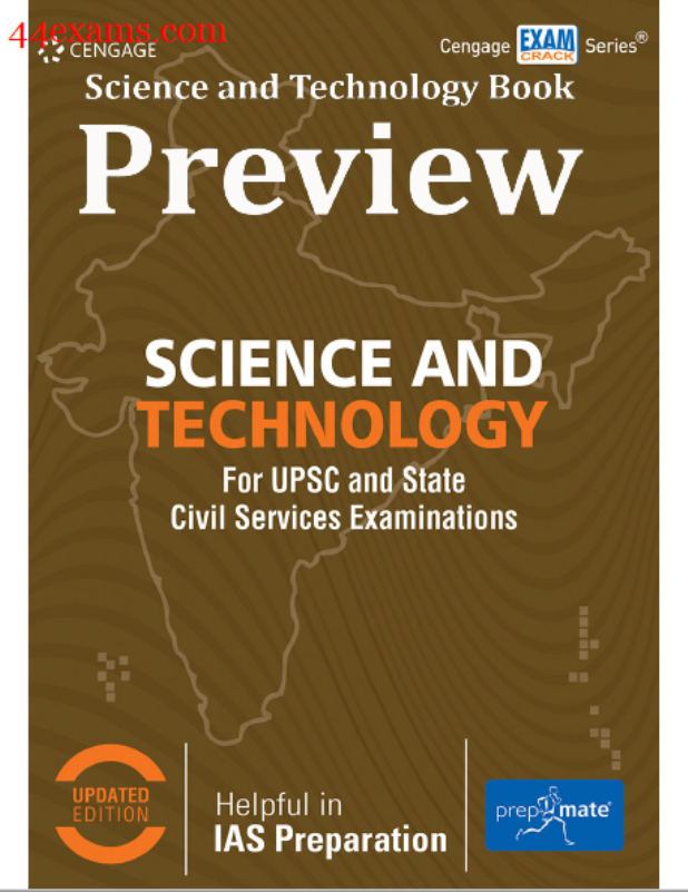 Science and Technology : For UPSC and State Civil Services Examinations Exam PDF Book