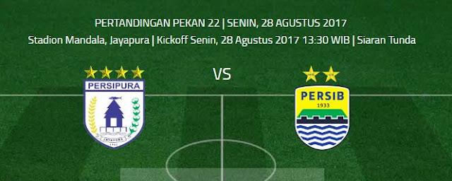 Persipura Jayapura vs Persib Bandung Disiarkan Tunda, Jadwal Kickoff Berubah
