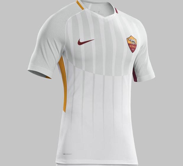 Nike divulga a nova camisa reserva da Roma - Show de Camisas 99371f0c377c9