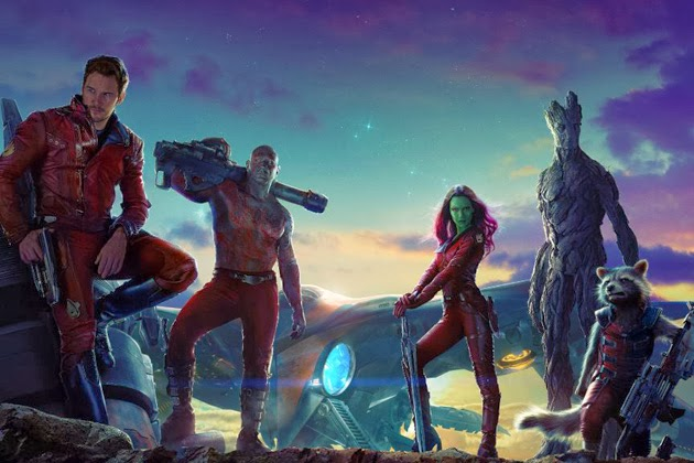 Guardians of the Galaxy poster movieloversreviews.filminspector.com