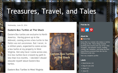 Blogging from the Heart at Treasures, Travel, and Tales