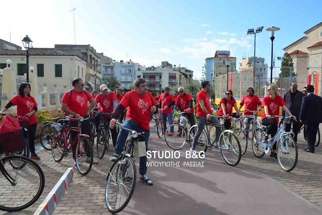Ατμόσφαιρα περασμένων εποχών στον 3ο Υπερμαραθώνιο Κλασικών Ποδηλάτων στο Άργος