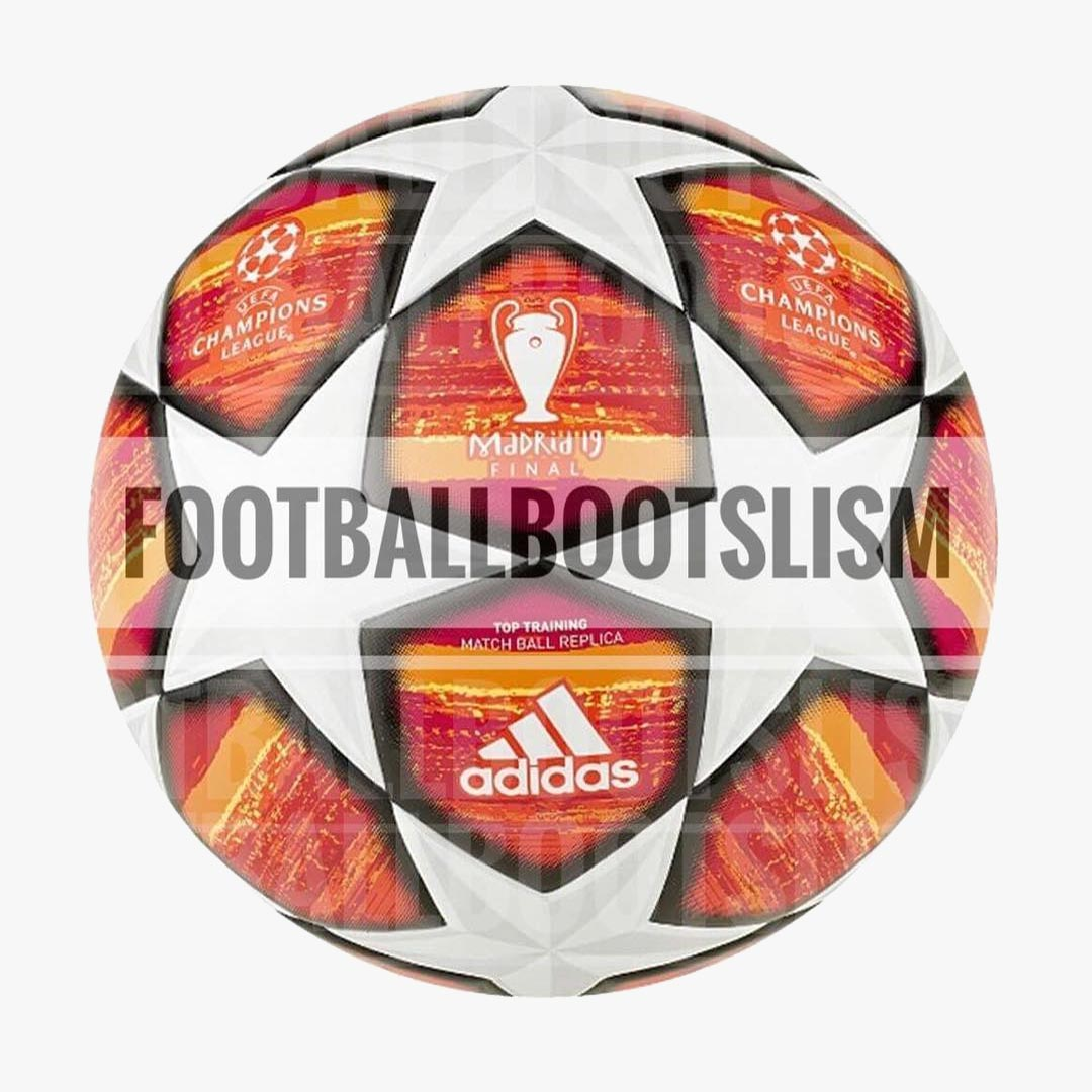 d759c7beb6585 An outstanding design inspired by the Spanish flag and based on the new Adidas  Champions League ball design with inverted star panels