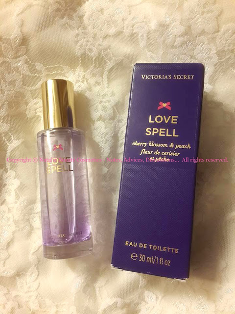LOVE SPELL - VICTORIA'S SECRET, PERSONAL PRODUCT REVIEW AND PHOTOS BY NATALIE BEAUTE