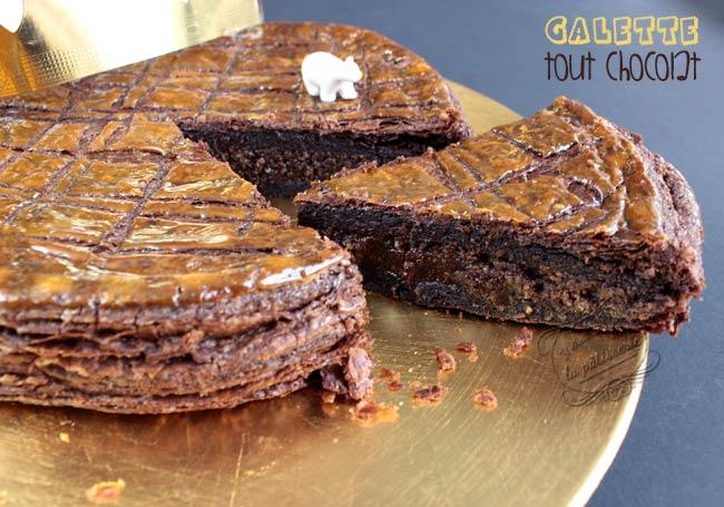 galette avec pate chocolat