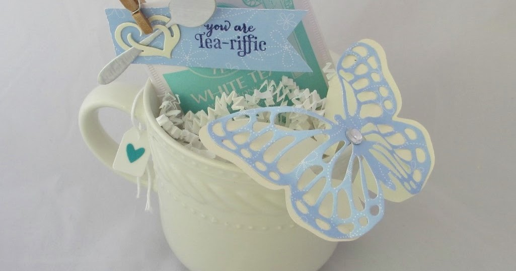 Sincerely, Babette: Tea-riffic Butterfly Cup
