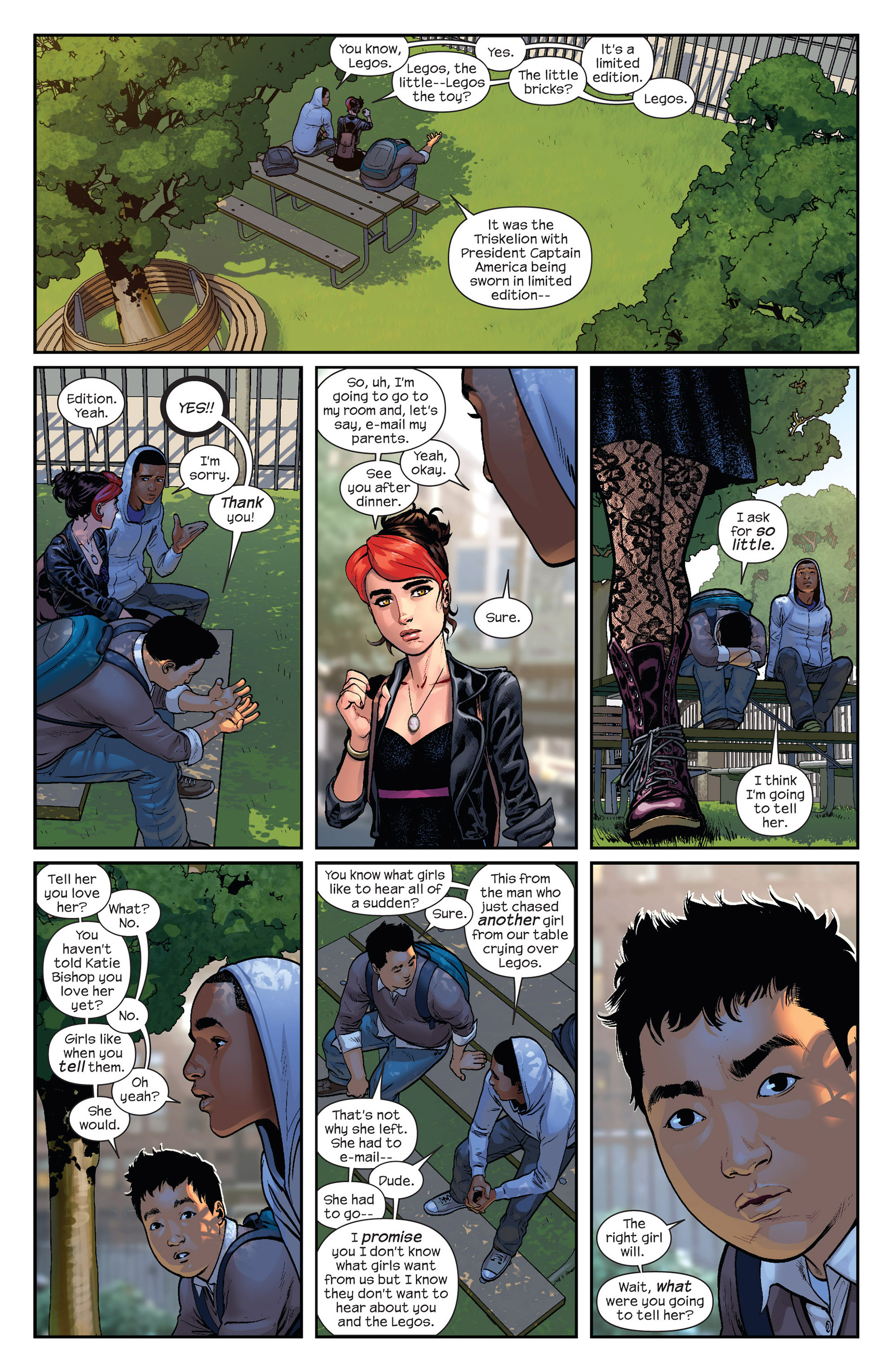 Read online Ultimate Comics Spider-Man (2011) comic -  Issue #23 - 6