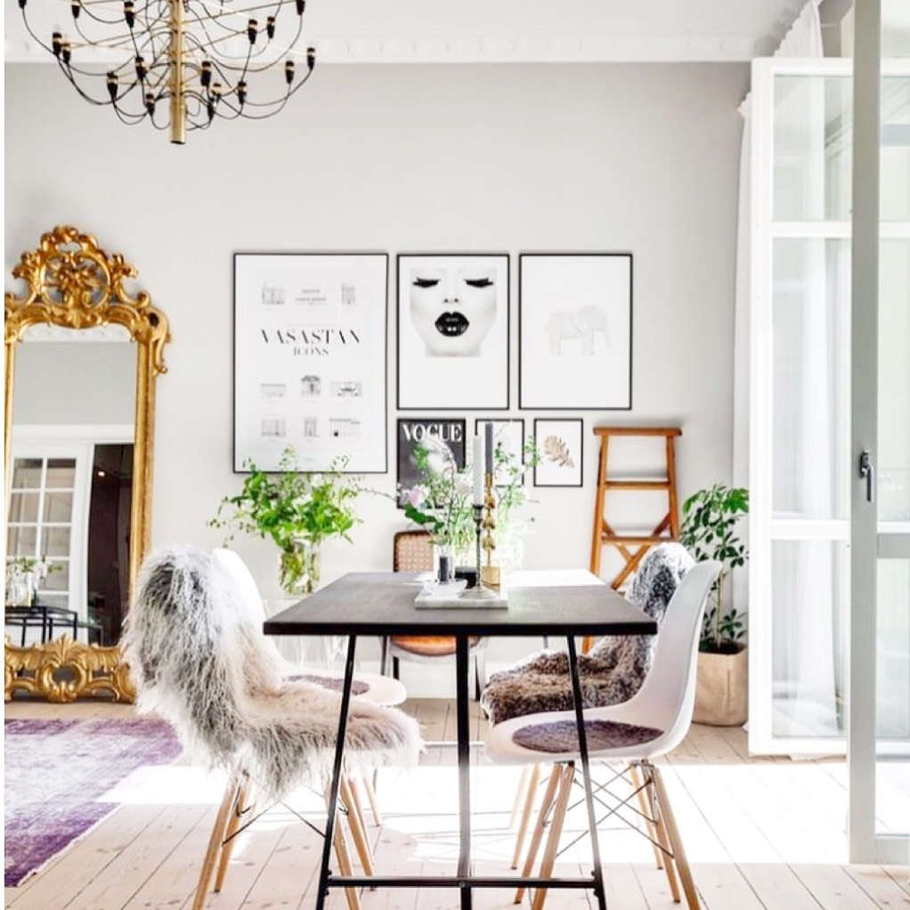 Simple luxurious and cute home decor