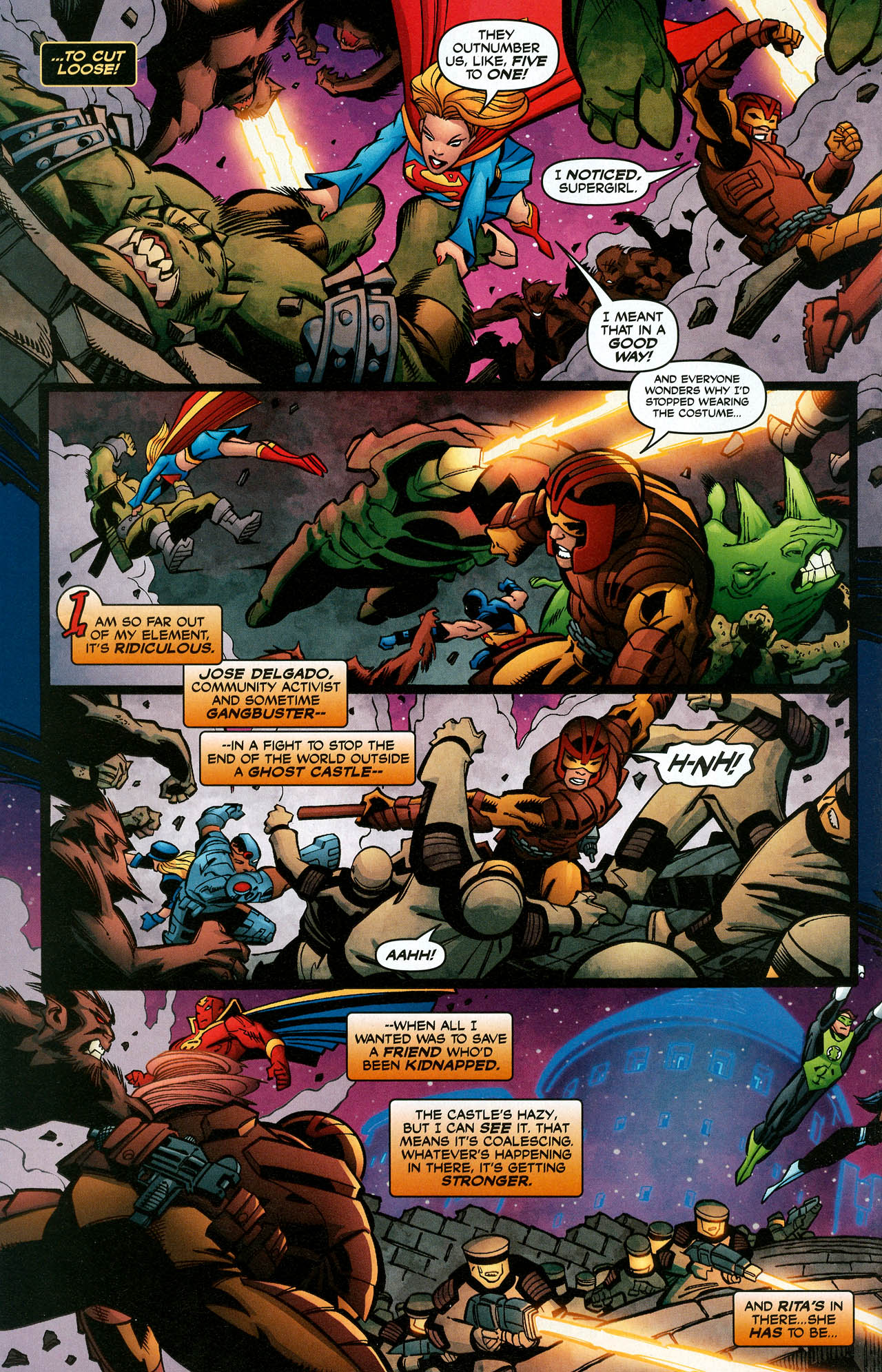 Read online Trinity (2008) comic -  Issue #15 - 22