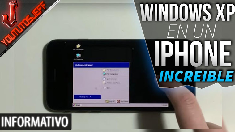 Windows XP es ejecutado en un iPhone 7