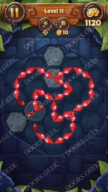 Gems & Magic [Tourmaline] Level 11 Solution, Walkthrough, Cheats
