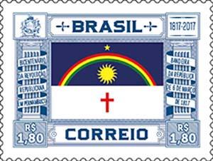 Correios lançam selo comemorativo dos 200 anos da Revolução Republicana de 1817