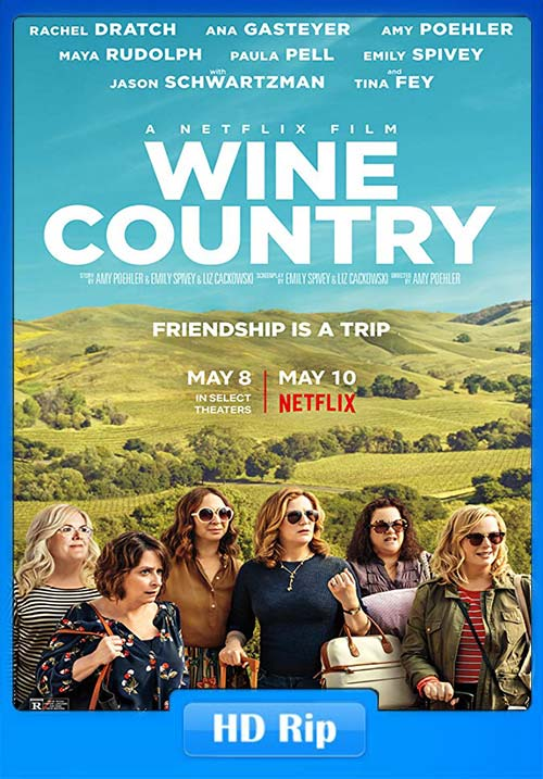 Wine Country 2019 HDRip 720p Hindi x264 | 480p 300MB | 100MB HEVC Poster